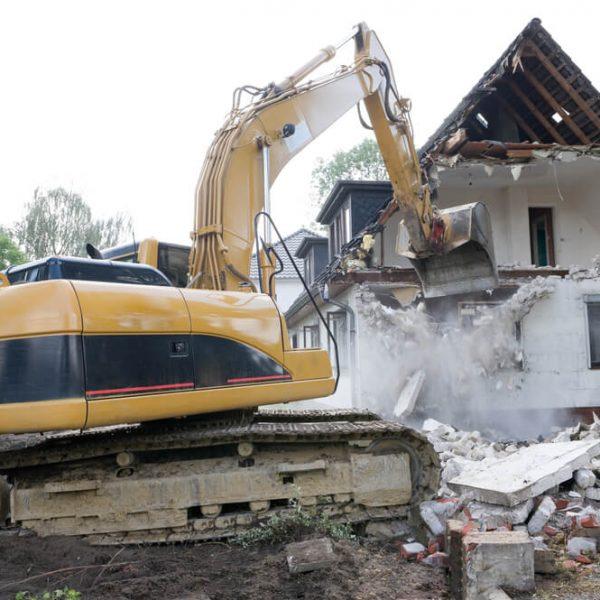 Búranie domu Bratislava