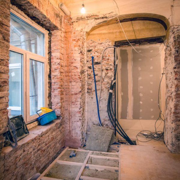 Stavebné úpravy v byte Bratislava